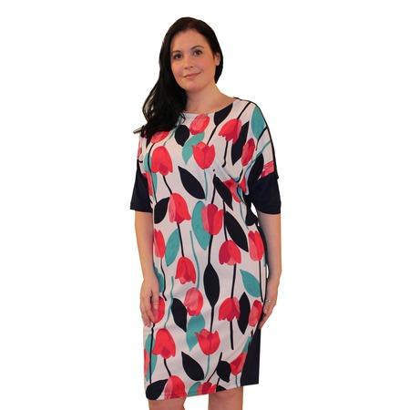 Купить Платье Klimini Консуэла. Цвет: красный