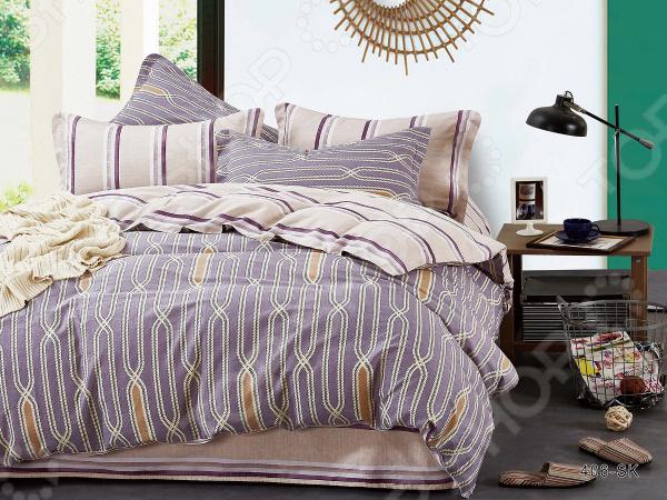 Комплект постельного белья Cleo 406-SK комплекты постельного белья cleo постельное белье hunter 2 спал
