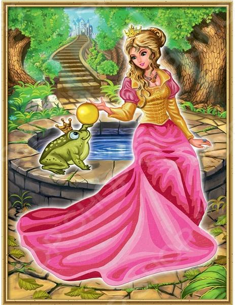 Раскраска по номерам Schipper «Царевна-лягушка»