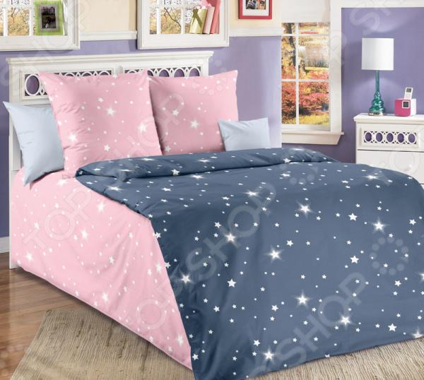 Детский комплект постельного белья ТексДизайн «Звёздное небо»