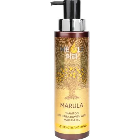 Купить Шампунь для усиления роста волос Meoli «Сила и блеск» with Marula Oil