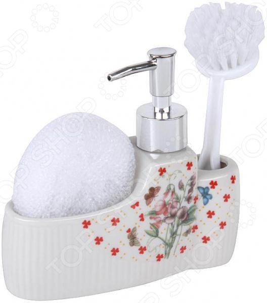 Дозатор для моющего средства Rosenberg RCE-335011 набор для ванной комнаты rosenberg rce 350004 3