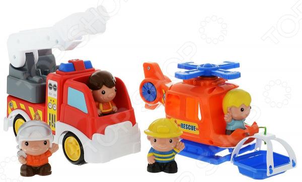 Набор игрушек для ребенка Keenway «Спасатели 911» keenway 15 элементов