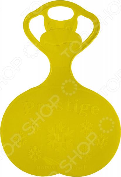 Санки-ледянки Престиж с символикой. В ассортименте Санки-ледянки Престиж с символикой /Желтый