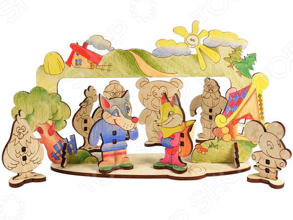 Игрушка развивающая WOODY «Детский театр»