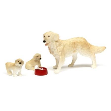 Купить Игрушечные животные для кукольного домика Lundby «Пес семьи со щенками»