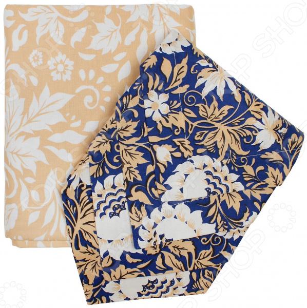 Набор: скатерть и салфетки BONITA «Белые Росы»