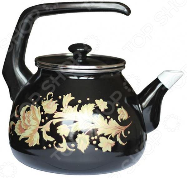 Чайник эмалированный Interos «Винтаж»