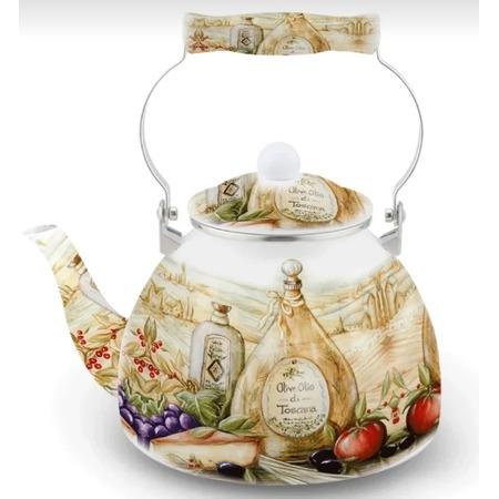 Купить Чайник эмалированный Kelli KL-4419 «Прованс»