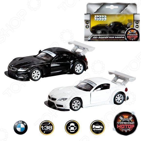 Модель автомобиля 1:38 Пламенный Мотор BMW Z4 GT3. В ассортименте