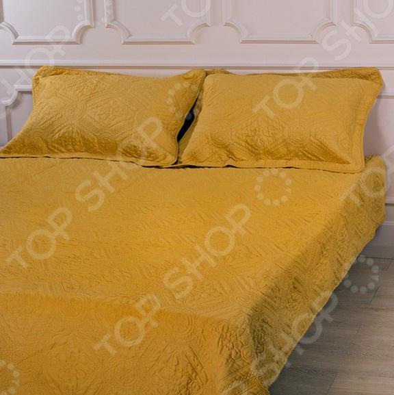 Комплект для спальни: покрывало и наволочки Santalino 806-035 для спальни
