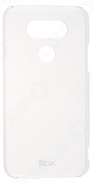Накладка защитная skinBOX LG G5 защитный чехол с подставкой ziefly edge для телефонов lg g5 из термополиуретана и пс пластика