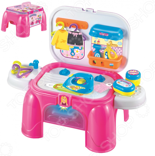 """Игровой набор для девочки 1 Toy """"Профи. Хозяюшка 2 в 1"""""""