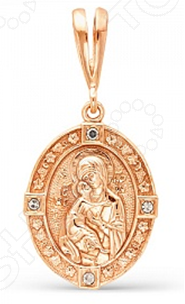 Кулон «Владимирская Божья матерь» икона янтарная божья матерь скоропослушница кян 2 212
