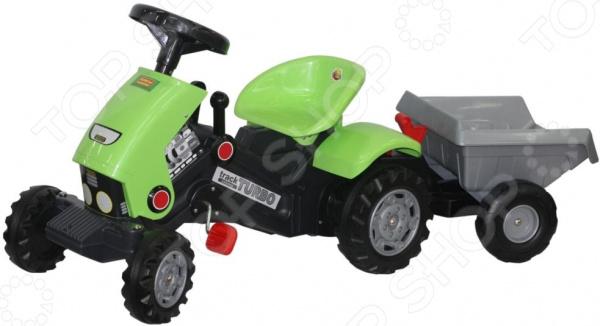 с педалями Turbo-2 и полуприцепом Каталка детская Coloma Y Pastor Turbo-2 с педалями и полуприцепом
