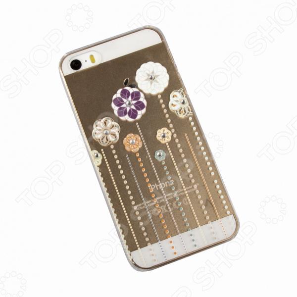 Чехол для iPhone 5/5S/SE «Туфельки и бантики»