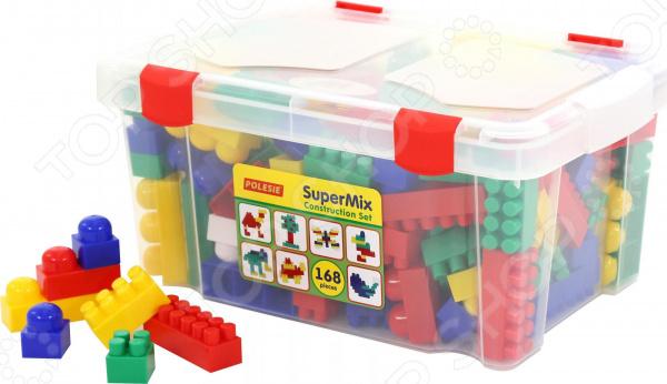 Конструктор игровой POLESIE «Супер-Микс» в контейнере Конструктор игровой POLESIE «Супер-Микс» в контейнере /