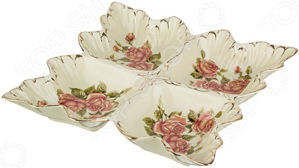 Менажница Lefard «Корейская роза» 126-548