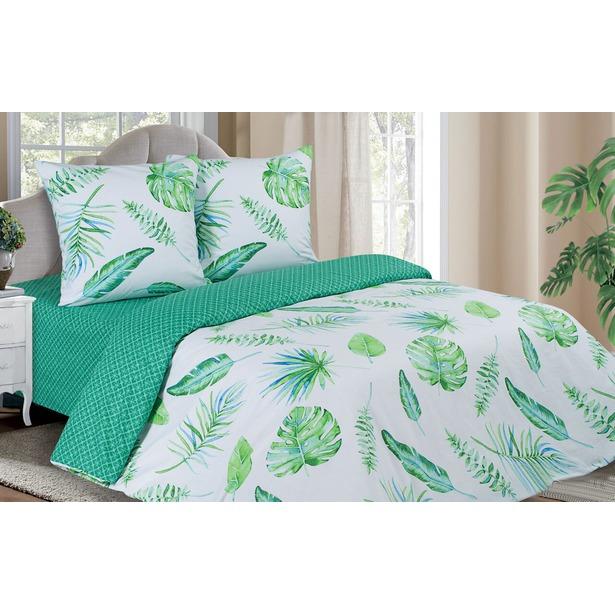 фото Комплект постельного белья Ecotex «Поэтика. Тропики». Размерность: 1,5-спальное