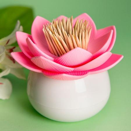 Купить Держатель для зубочисток Qualy Lotus