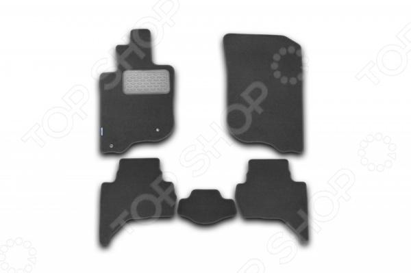 Комплект ковриков в салон автомобиля Novline-Autofamily Mitsubishi L200 2005 подкрылок с шумоизоляцией novline autofamily для lada priora 2007 задний правый
