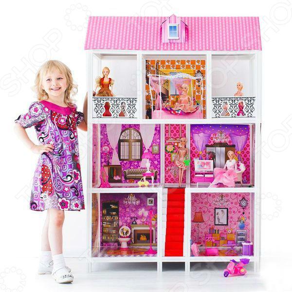 Кукольный дом с аксессуарами PAREMO PPCD116-05
