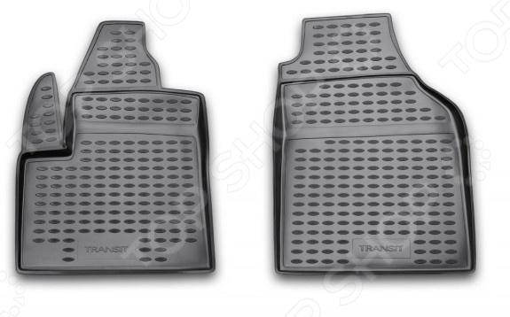Комплект ковриков в салон автомобиля Novline-Autofamily Ford Transit / Connect 2002 коврик 3d в салон novline ford transit 1 2 пассажирский 2014