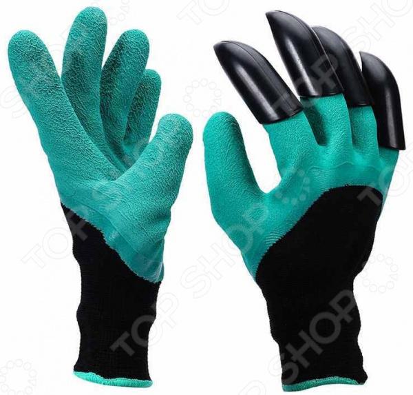 Перчатки садовые с когтями Garden Genie Glove