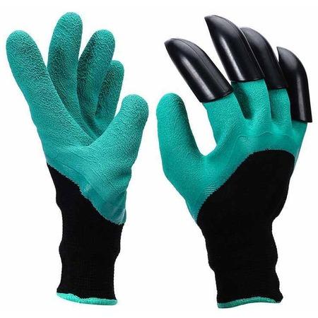 Купить Перчатки садовые с когтями Garden Genie Glove