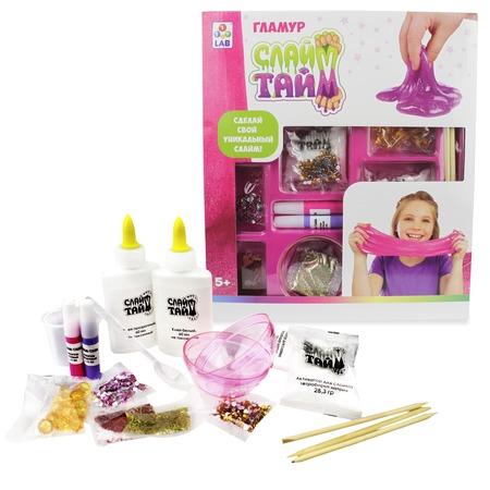 Купить Набор для изготовления слайма 1 Toy LAB Glamour