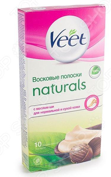 Полоски для депиляции Veet Naturals