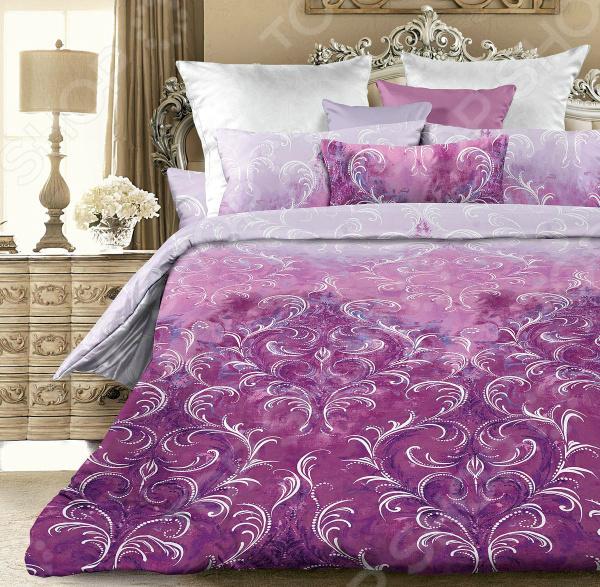 Комплект постельного белья Унисон «Виконт». Цвет: сиреневый комплект постельного белья унисон криолло