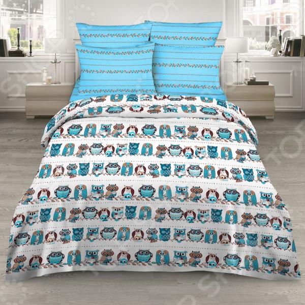 Комплект постельного белья Василиса 7184/1 комплект семейного белья василиса кружевной стиль 5031 1 70x70 c рб
