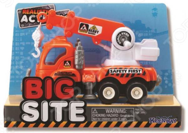 Подъемный кран игрушечный Keenway Construction