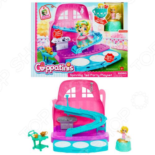 Игровой набор для девочки 1 Toy Spinning Tea Party. Cuppatinis