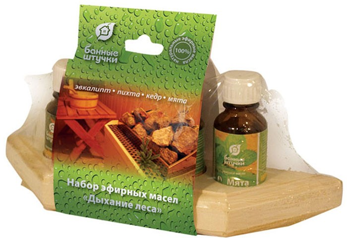 Набор эфирных масел Банные штучки «Дыхание леса»
