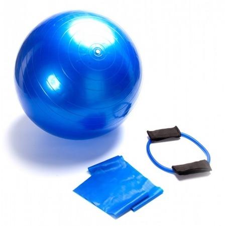 Купить Набор: мяч гимнастический, эспандер и эластичный бинт Bradex SF 0070