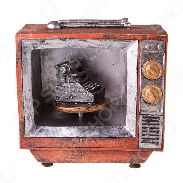 Фигурка декоративная Miolla «Ретро телевизор» календарь настольный miolla ретро фотокамера