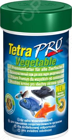 Корм для декоративных рыб Tetra Pro Algae tetra корм для рыб tetra selection для всех видов рыб 4 вида хлопья чипсы гранулы 250мл