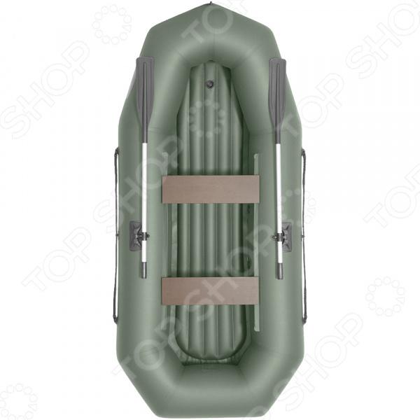 Лодка гребная ЛОЦМАН «Профи» С 280 М ВНД гребная лодка хантер 280 лтн