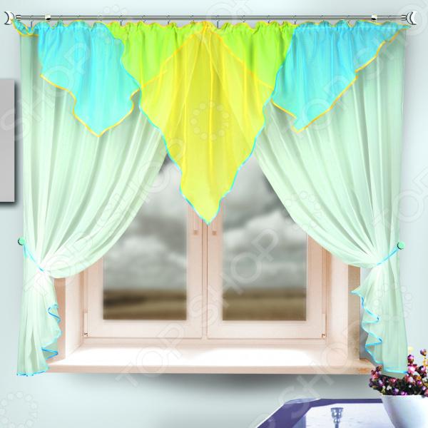 Комплект штор Zlata Korunka 333315 комплект штор с покрывалом для спальни в москве