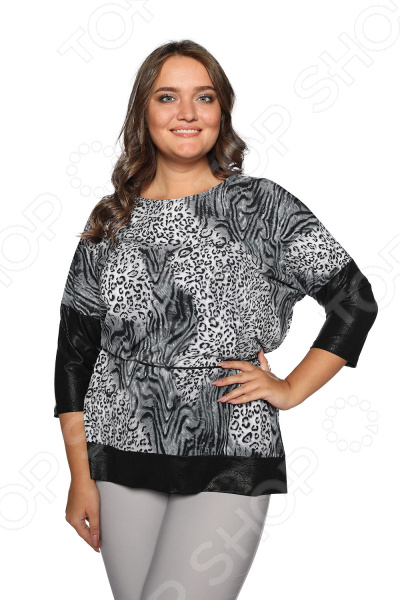 Туника Гранд Гром «Женские чары». Цвет: серый пуф s0152 01 st