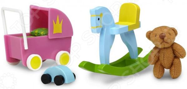 качалки игрушки Аксессуары для куклы Lundby «Смоланд. Игрушки для детской»