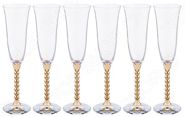 Набор бокалов для шампанского Claret 661-053 набор бокалов для бренди коралл 40600 q8105 400 анжела