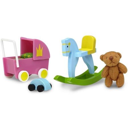 Купить Аксессуары для куклы Lundby «Смоланд. Игрушки для детской»