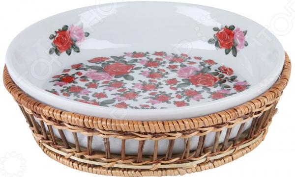 Блюдо круглое Rosenberg RCE-035005-RR блюдо rosenberg 8390
