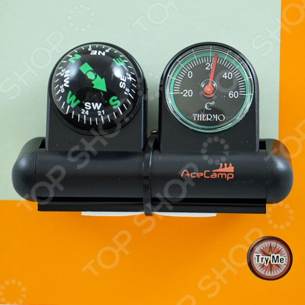 Компас автомобильный с термометром и гироскопом AceCamp 3126