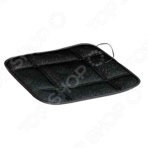 Накидка на сиденье с подогревом SKYWAY без спинки Накидка на сиденье с функцией подогрева SKYWAY «Жара» /Черный