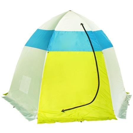 Купить Палатка СТЭК четырехместная брезентовая. В ассортименте