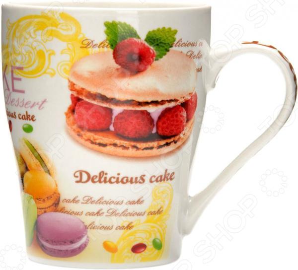 Кружка Loraine «Десерт» 26588 кружка loraine десерт 340 мл 26588